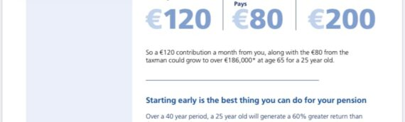 Pension Season – The importance of starting early